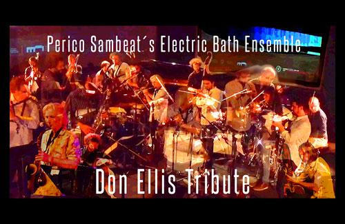 Perico Sambeat´s Electric Bath Ensemble
