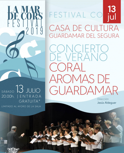 FESTIVAL MAR DE CORS. CORAL AROMAS DE GUARDAMAR