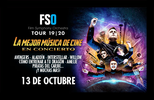 FSO Tour 19   20 - La Mejor Música de Cine