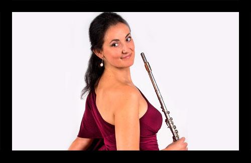 Maria Dolores Vivó, flauta