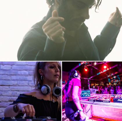 FIESTA IV ANIVERSARIO TEM, KALABRESE + DJ DONES
