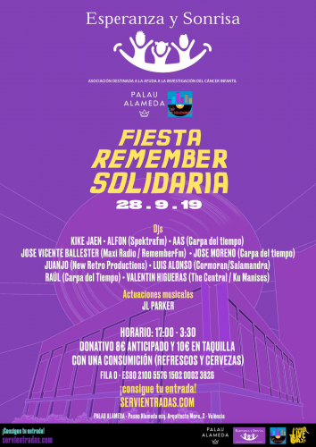 Fiesta Remember Solidaria.