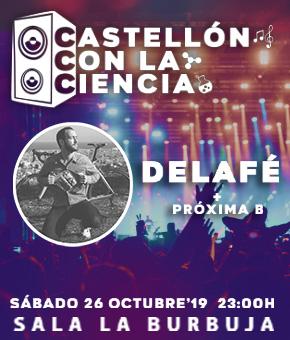 Delafé - Conciertos Castellón con la Ciencia