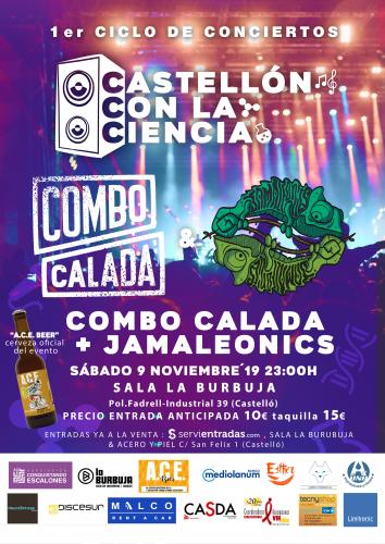 Combo Calada + Jamaleònics - Conciertos Castellón