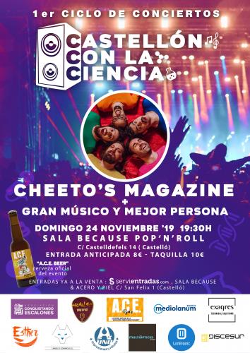 Cheeto´s Magazine - Conciertos Castellón con la...
