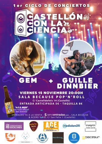 Guille Dinnbier + GEM - Conciertos Castellón...