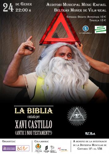 La Biblia contada per Xavi Castillo