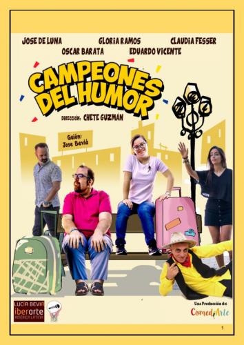 CAMPEONES DEL HUMOR