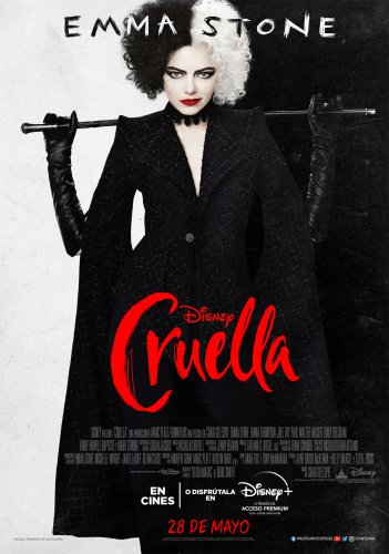 """Cine en el liceo """" Cruella"""""""