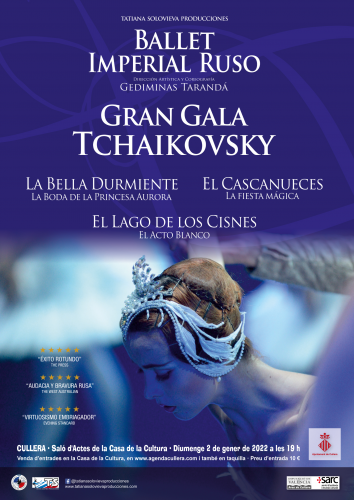 BALLET IMPERIAL RUSO: GRAN GALA TCHAIKOVSKY