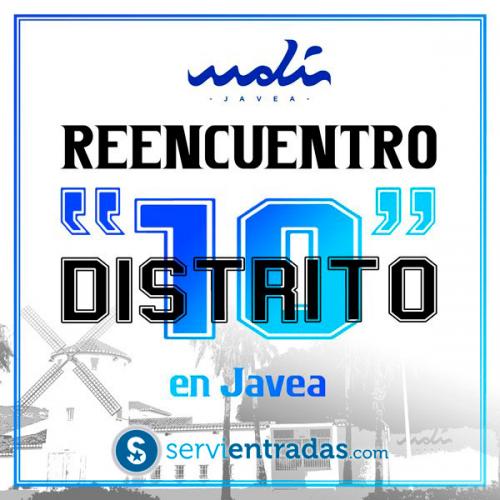 FIESTA REENCUENTRO DISTRITO 10 EN JAVEA-EL MOLI