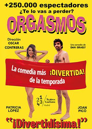 ORGASMOS. LA COMEDIA