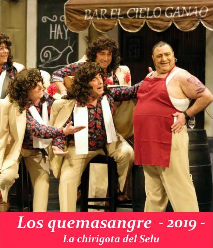 LOS QUEMASANGRE - ALGECIRAS