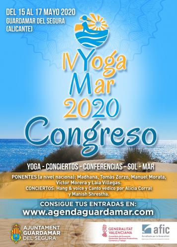 CONGRESO YOGAMAR DEL 15 AL 17 MAYO