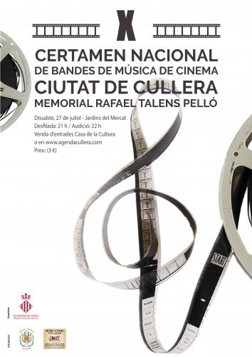 X CERTAMEN NACIONAL DE BANDES DE MUSICA DE CINEMA