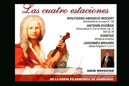´Las Cuatro Estaciones´ de Antonio Vivaldi