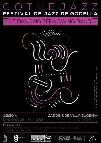 GOTHEJAZZ 2019 - LE DANCING PEPA SWING BAND