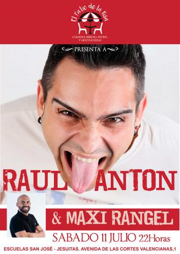 RAÚL ANTÓN Y MAXI RANGEL