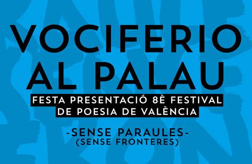 Vociferio, festival de poesía de València