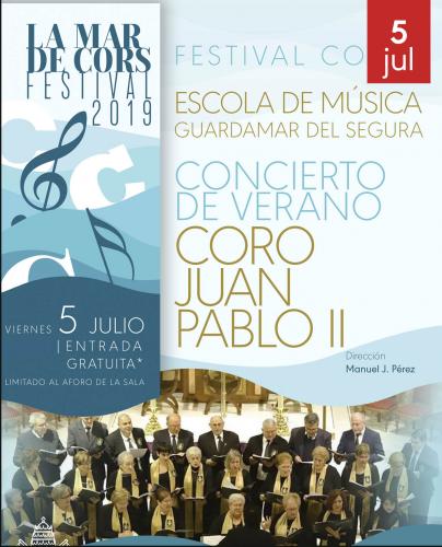 FESTIVAL MAR DE CORS. CORO JUAN PABLO II